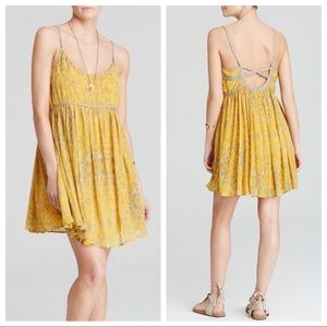 Free People Periscope in the Sky Babydoll Dress
